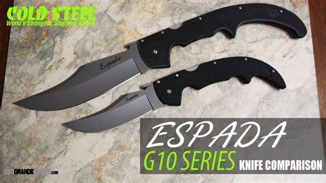 cold steel espada large g10 cold steel large g10 espada vs xl g10 espada knife