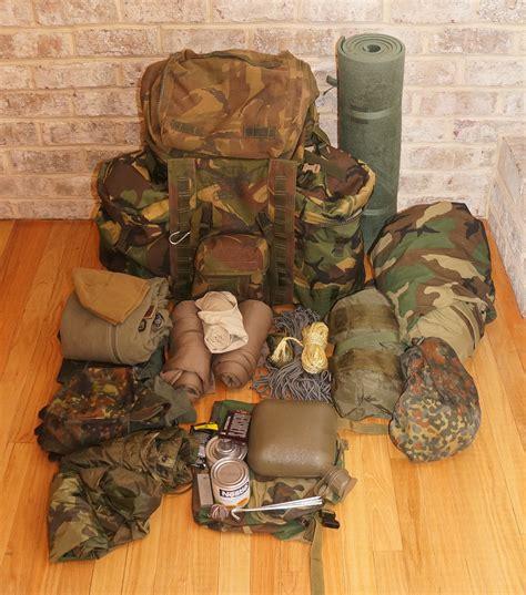 rucksack contents back plce bergen a classic gun