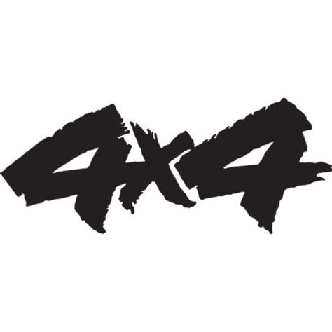 Auto Logo S 4x4 by 4x4 Decal Sticker 4x4 C