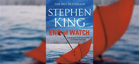 libro end of watch end of watch nueva portada insomnia