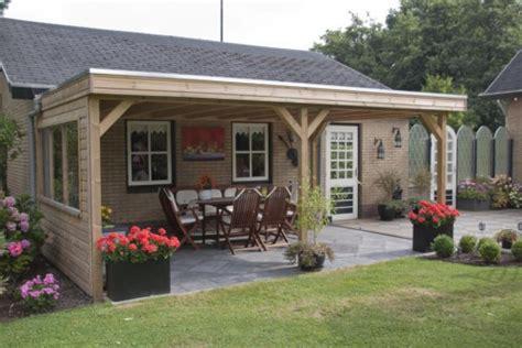 veranda vorm haus houten overkapping tuin terrasoverkapping op maat