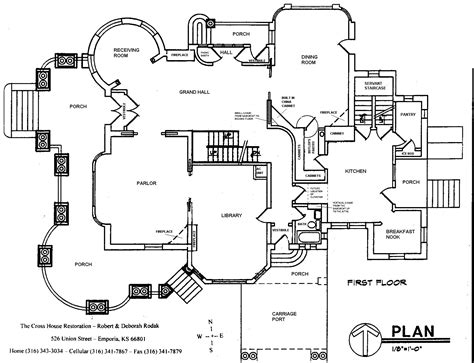 house schematics cross house restoration floor plans and blueprints