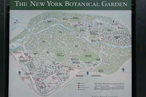 Map Of Botanical Gardens Bronx Nyc Picture Of Bronx New York Botanical Garden Directions