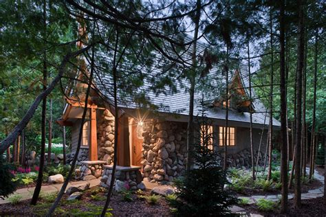 Fairytale Cabin by Mountain Architects Hendricks Architecture Idaho