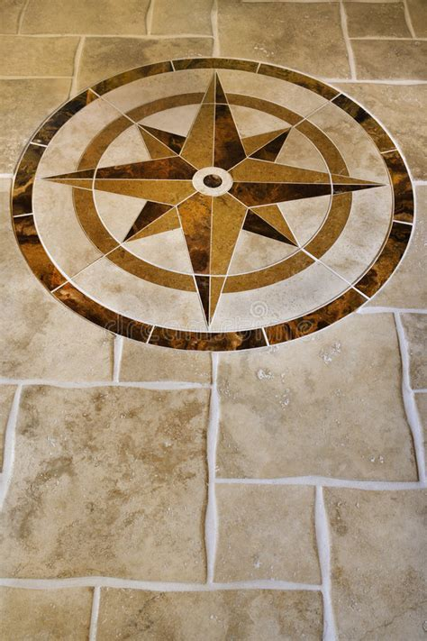 Marble Floor With Star Shape. Stock Photography   Image
