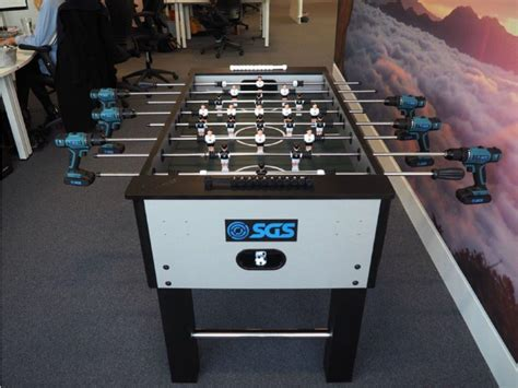 Office Drill Office Creates Epic Power Drill Foosball And You To
