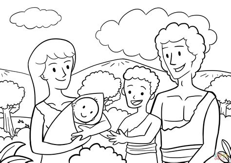 preschool coloring page adam and eve cool cain and abel coloring pages colorings me