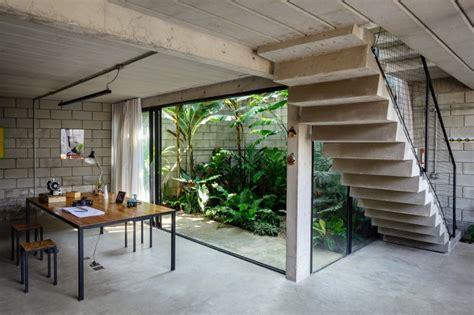 modern interior courtyard design homes