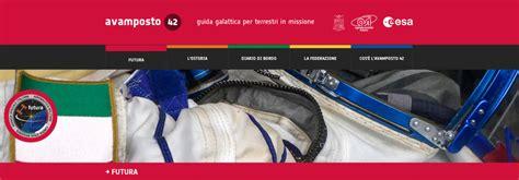 futura sito presentato avosto42 il sito ufficiale della missione