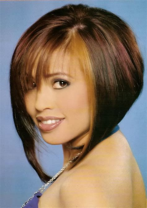 bob haircuts and styles chin length hairstyles 2012 angled bob hairstyles