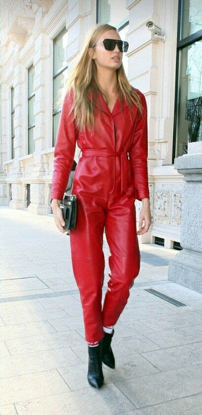 Töff Jeans Rokker by Lederlady Wow Pinterest Leather Leather Catsuit And