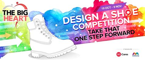 design competition malaysia 2017 the big heart design a shoe competition singapore