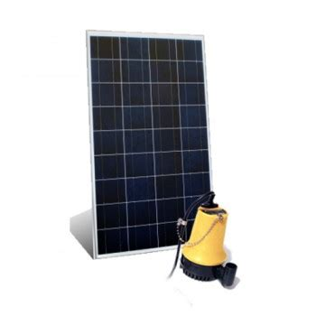 paket pompa air murah tenaga surya celup dc