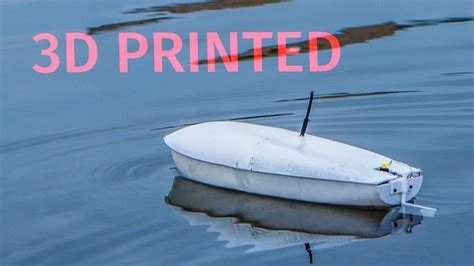 how to make a rc boat youtube how to make a 3d printed rc boat youtube