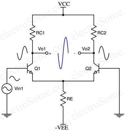 transistor lifier output voltage differential lifier using transistors