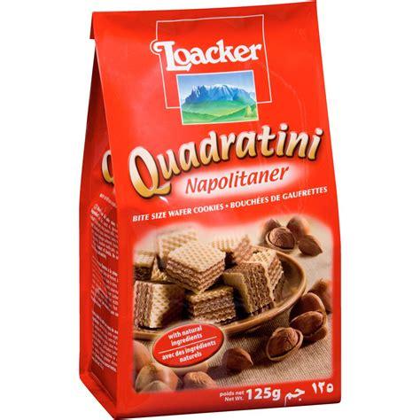 Loacker Quadratini Napolitaner Wafer 250gr loacker quadratini wafers napolitaner 125g woolworths