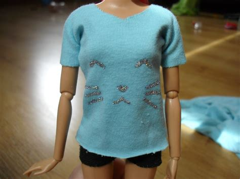 youtube shirt pattern how to make barbie t shirt tutorial youtube