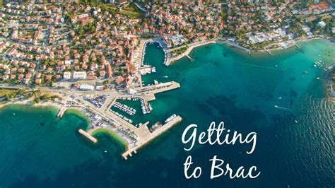 catamaran ferry split to bol getting to brac visit croatia