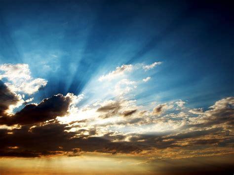 Nature De Sol by Pap 233 Is De Parede Nuvens Raios De Sol 1920x1200 Hd Imagem