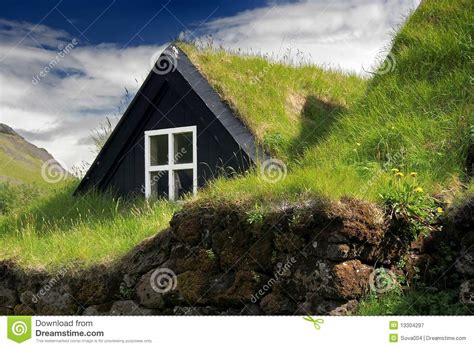 Pueblo Style House Plans turf roof house royalty free stock photography image