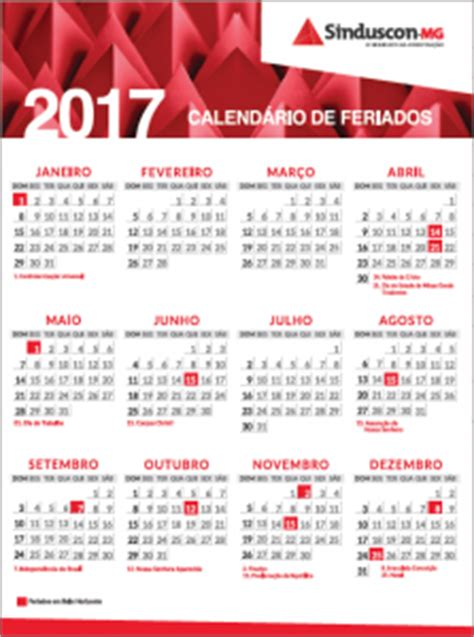 Calend Belo Horizonte 2017 Calendario 2018 Belo Horizonte 28 Images Calend 225