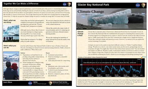 climate change glacier bay national park preserve