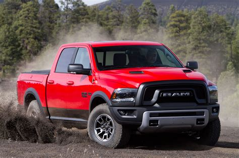 Ram 1500 Rebel by 2015 Ram 1500 Rebel Kicking Up Dirt Photo 80
