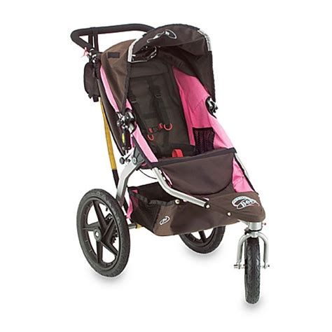 Stroller Cocolate bob 174 revolution chocolate pink single stroller and