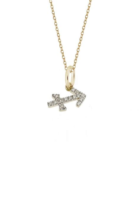 rachael ryen jewelry sagittarius zodiac necklace