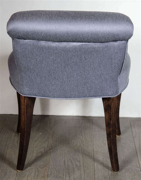 Vanity Stool With Back by 1940 S Scroll Back Vanity Chair Stool With