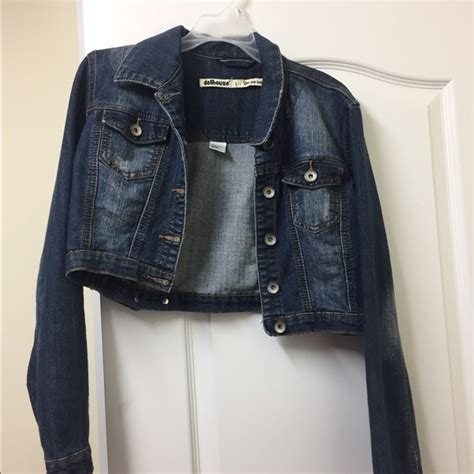 dollhouse jacket dollhouse dollhouse denim jacket size large from