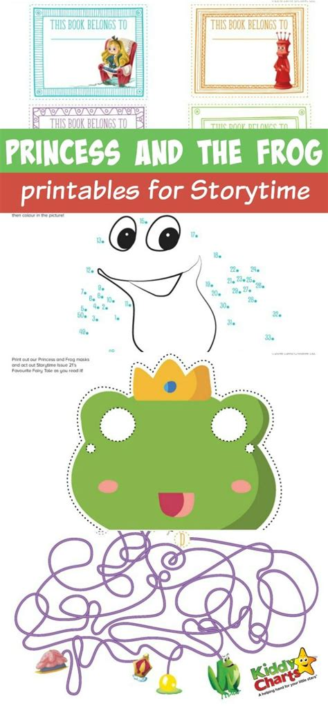 Princess And The Frog Printables For Storytime Frogs Princess And The Frog Pictures Printable