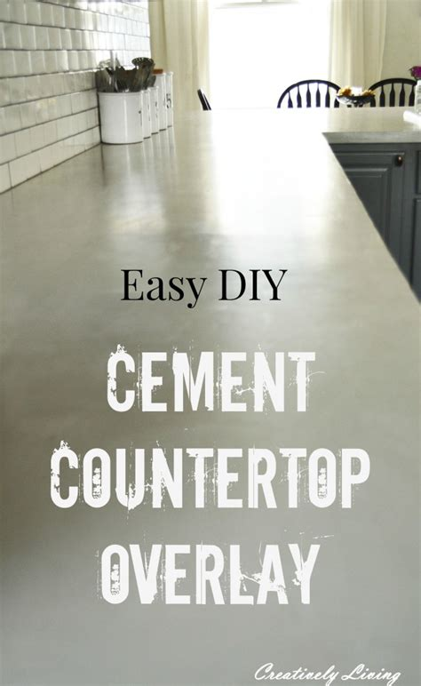 Concrete Overlay Countertops Diy by Awesome Diy Projects For The Home Work It Wednesday No