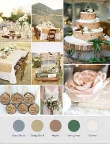 rustic color palette rustic wedding color palette rustic wedding ideas