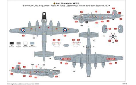 product layout model airfix a11005 avro shackleton aew 2 1 72
