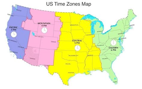 show me a map of united states time zones time zone map of us show me a map of us time zones united
