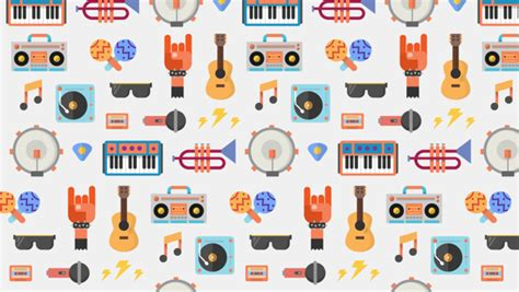 google design graphics fun cheerful illustrations for the launch of google play