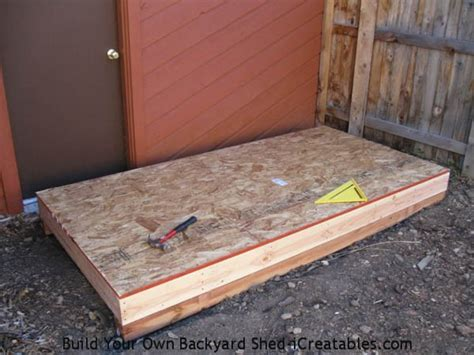 Plywood For Shed Floor by Lean To Shed Plans Easy To Build Diy Shed Designs