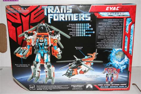 Transformers 2007 Allspark Power Voyager Autobots Evac transformers toys 2007 evac voyager class figure parry preserve
