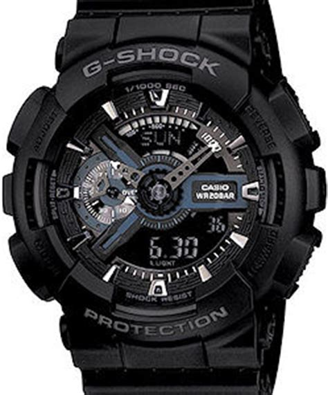 G Shock Ga 110 Gold Black Bm casio g shock wrist watches g shock digi all black