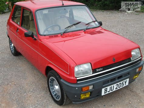 renault turbo renault 5 gordini turbo 1983 south western vehicle