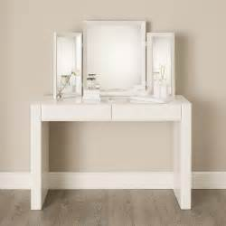 Modern Makeup Vanity Carlton Glass Dressing Table Contemporary Bedroom