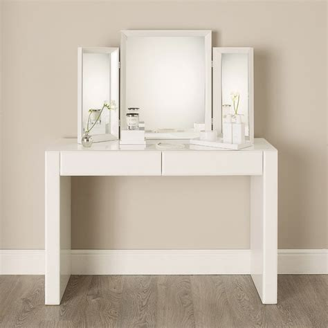 carlton glass dressing table contemporary bedroom