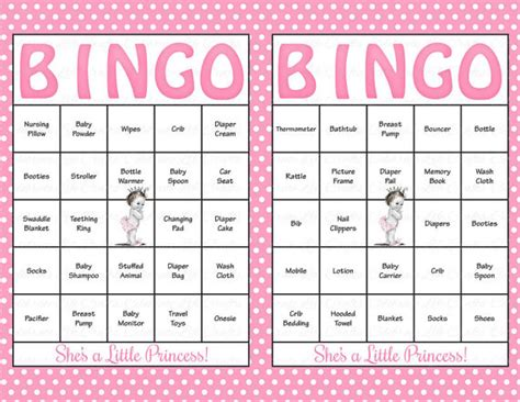 baby bingo template printable 100 baby shower bingo cards printable baby
