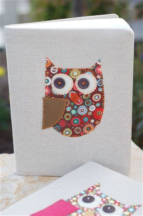 diy owl crafts all things simple crafts owl notebook craft ideas notebook covers notebooks