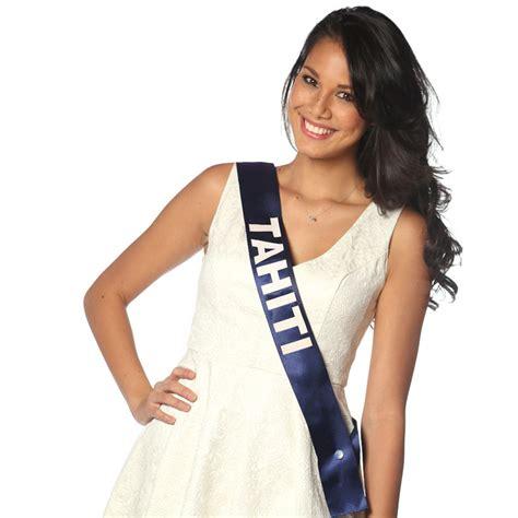 Deco Vanity Miss France 2014 Miss Tahiti Quot J Adore Le Poisson Cru Au