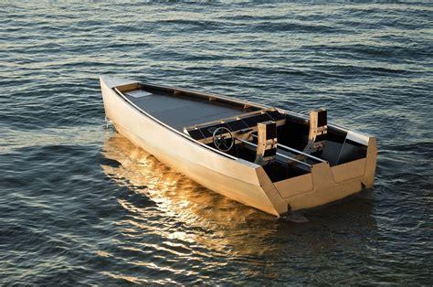 electric runabout boat argo vert 0500 aluminum electric inboard design