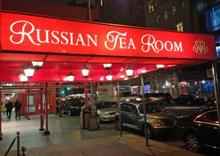 Russian Tea Room New York by Russian Tea Room In New York