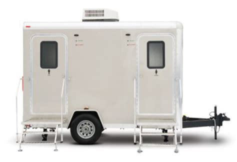 used bathroom trailer for sale portable restroom trailers new and used for sale