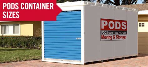 moving pod storage container sizes best storage design 2017
